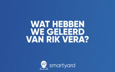 Wat hebben we geleerd van Rik Vera?